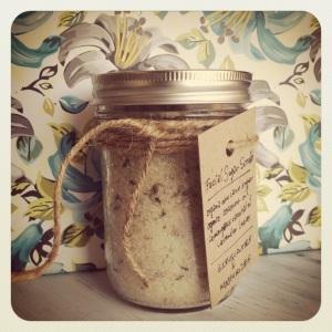 Lemongrass + Lavender Facial Scrub
